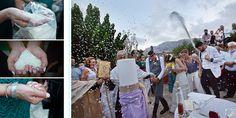 Traditional orthodox wedding in Rethymno, Crete.