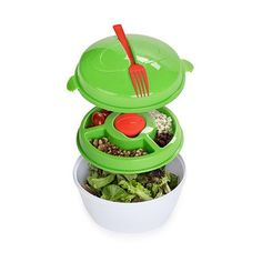 Salad-To-Go Container at 64% Savings off Retail!