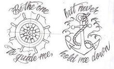 old school nautical tattoos -