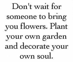 Plant your own garden <3