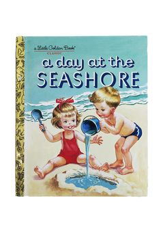 A Day at the Seashore Golden Book