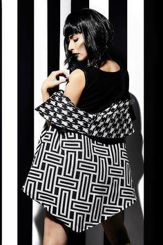 """Collection """"Entre Les lignes """" Adeline Ziliox  #Designer #Couture #Graphic  #dress #Gown #Fashion #Models #Black #White #Stripes #Paris #Show #cape #photo #shooting #Catwalk #Fashionweek #Mode #Création #Magazine #Cover #Emotion #Passion #Love"""