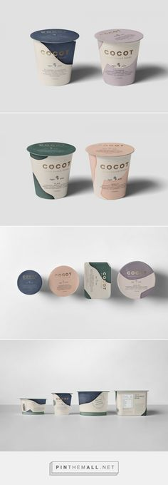 A Concept for Brand and Packaging Design for Plant-Based Foods from Mexico PACKA. - Design and Packaging - Yogurt Packaging, Branding And Packaging, Dairy Packaging, Packaging World, Ice Cream Packaging, Milk Packaging, Dessert Packaging, Food Packaging Design, Beverage Packaging
