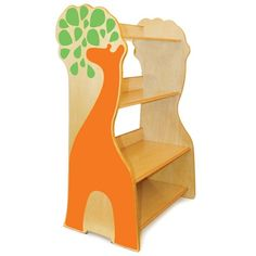 Another cute thing from P'kolino - Giraffe Bookcase!