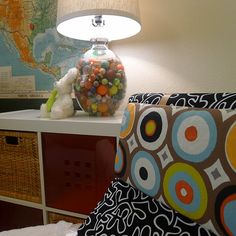 Bouncy ball lamp...@Stacie L Do you still have your bouncy ball collection?