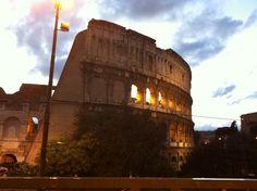 Colosseo al Tramonto Agosto 2014