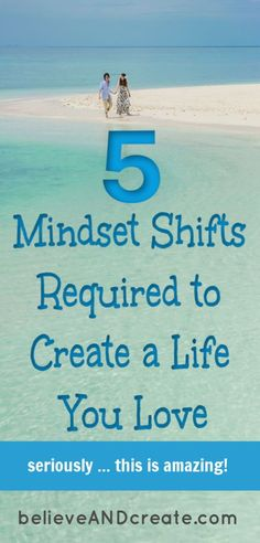 It's time to LOVE your life (and love yourself!) Discover simple mindset shifts that'll make an amazing difference in your life. Love Your Life, Life Is Good, Change Your Mindset, Success Mindset, Growth Mindset, Self Development, Personal Development, Life Advice, Life Tips