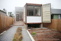 New orleans shipping container home