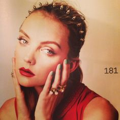 HEATHER MARKS WITH ViaTORY RINGS at NYLON MAGAZINE AUG.2013
