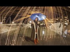 How to Create Raindrops of Light with Steel Wool
