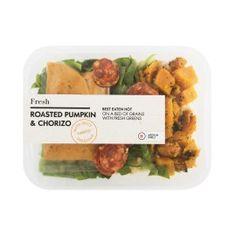 Fresh Roasted Pumpkin & Chorizo 280g   Woolworths.co.za Vegetable Salad, Chorizo, Salads, Roast, Pumpkin, Herbs, Beef, Fresh, Vegetables