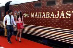 Maharajas Express Train Exterior.  #India #Travel #IncredibleIndia #Vacation #ThingsToDo #Tourist #TouristAttractions #Tourists #India #Tour #Traveling #Tours #Luxury #Hotel #Destination #Trip #PlacesToSee #Culture #Attractions #TheMaharajaExpress #MaharajasExpress LuxuryTrain #Palaceonwheels #MaharajaExpress