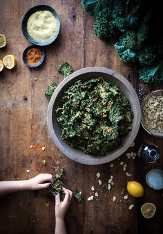 I first tried kale chips only about 9 months ago. I'm always a little late to the game, it seems.I stumbled upon a raw/whole foods café in my town's arts district where I found little bags of these crunchy green wonders. I tried them and was instantly hooked. They were so much better than I...Read More »
