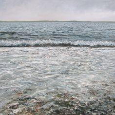 Beachimpression from a grey day