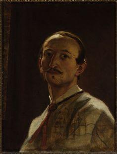 "Grottger Artur (1837-1867)   ""Portret własny"",1867"