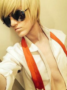 This is a Girl!!!!! Cosplaying Dave Strider!!! (Tumbler) ;P