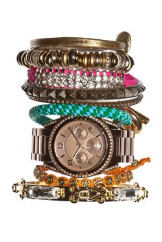 Stack your bracelets. Stack them high and go out the door. Sincerely, JoAnne Craft