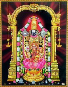 Balaji with Lakshmi (via Dolls of India)