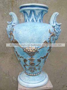 Vaso tipo cântaro. #vaso #vasos #decorativo #decorativa #blogdecor #fruteira #decoração #artesanato #decoracao #novidade #novidades #lançamento #novo #nova #bomdia #quarta #quartafeira #boatarde #artesanato #gesso #euquero #arquitetura #vase #vases #jacarepagua #rio #021 #021rio #classe #estilo #blogdecor #décor #décordodia #decor #novidade #artes #riodejaneiro #riodecor #rj