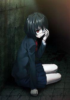 Another Misaki May Manga Art, Manga Anime, Anime Art, Zoro, Vocaloid, Another Misaki Mei, How To Draw Anime Eyes, Anime Triste, Anime Girl Drawings