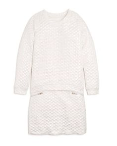 40.50$  Watch now - http://viqbl.justgood.pw/vig/item.php?t=b05m0420415 - Girls' Metallic Quilted Sweatshirt & Mini Skirt, Sizes S-XL - 100% Exclusive