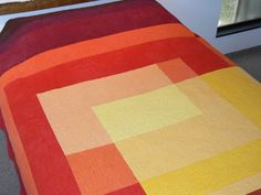 Here Comes The Sun - Queen Sized Quilt - Made to Order