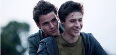 Ko Vandvliet and Gijs Blom from the film Boys