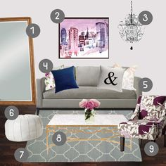 9 Feminine Decor Ideas