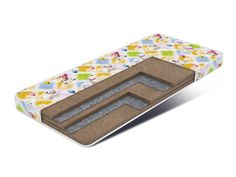 Матрас Kids Classic Big - жесткий и упругий детский матрас из 100% природных материалов, способствует правильному формированию позвоночника ребенка. В составе матраса натуральная кокосовая койра - материал из волокна кокосового дерева, пропитанный натуральным латексом, что придает матрасу антибактериальный эффект. Пропитанное латексом и спресованное в плиту, волокно прекрасно пропускает воздух, обеспечивая постоянную внутреннюю вентиляцию матраса.