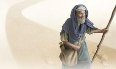 O salmista anda segurando seu bastão