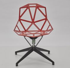 By Konstantin Grcic, prototype #5 for chair_ONE, 1999/2000-2004.