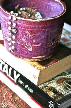 Once Upon A Tea Time.... Design Stories   #onceuponateatime #jewelry #fuchsia #blockprint