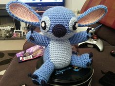 OMGosh I can't believe I found this... I so have to make it for my Grandchild - Amigurumi Stitch! from Lilo and Stitch