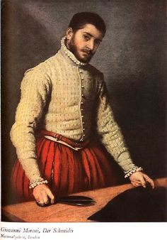 1500-1540: Spanish upper class men's clothing