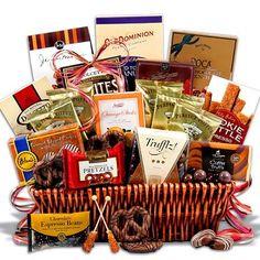 Coffee and Chocolates Gift Basket - Premium $99.99
