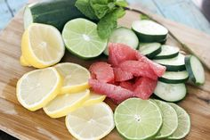 slim down detox water serves 8 serving siex is 1 8 ounces glass of water low fat low calorie low sodium low carb clean eating gluten free paleo and vegetarian photo 2
