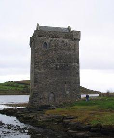 Rockfleet Castle, Ireland. One of Grace O'Malley's homes.