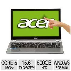 """Acer Aspire 15.6"""" Touchscreen Ultrabook Intel Core i5 8GB 500GB HDD $649.99 with Private Coupon CHC124213 
