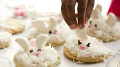 Easter Bunny Cookies   Holiday Cottage
