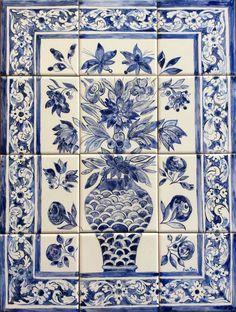 Mediterranean Wedding, Contemporary Decorative Art, White Tile Backsplash, Spanish Tile, Porcelain Jewelry, Porcelain Ceramics, Naive Art, White Decor, Cherub