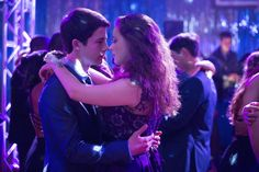 """Dylan Minnette and Katherine Langford in """"13 Reasons Why."""""""