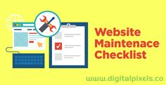 Website maintenance is necessary just like maintaining your car or a bike. Without website maintenance your online business will not run for a long time of period, as your website need fresh content to manage its ranking and popularity in popular search engines, . But, are you taking your website maintenance seriously? In this article
