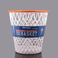 "Spalding® ""Crunch Time"" Basketball Net Wastebasket - BedBathandBeyond.com"