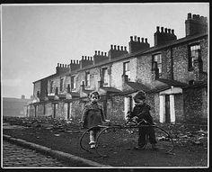 Manchester slum 1950's