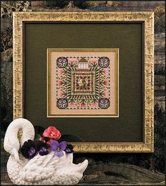 Just Nan - JN158 Spring In The Square • Counted Thread Cross Stitch Designs from Just Nan