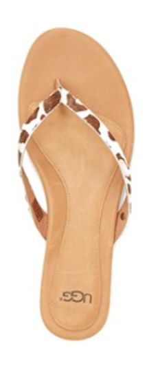 Ugg animal print flip flop http://rstyle.me/n/wunmsbna57