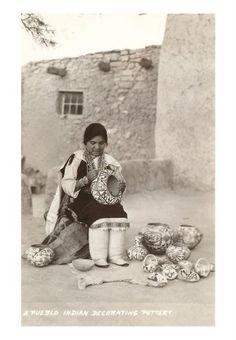 Acoma woman - circa 1900