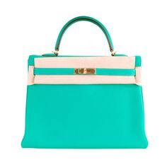 Hermes Kelly Bag........that color made my eyes water, which means I like it a whole lot