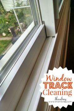 Cleaning window tracks can be a very tedious chore. Check out the tips here to see how to cross this task off your list more quickly.