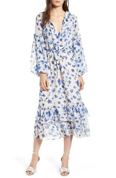 5c97821764 Best Seller MISA Los Angeles Delyla Floral Print Dress online -  Topbrandsclothing. Nordstrom DressesChiffon ...
